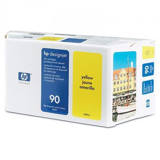 C5081A  Набор с жёлтыми чернилами №90 Hewlett-Packard