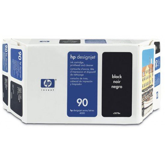 C5078A Набор с чёрными чернилами №90 Hewlett-Packard